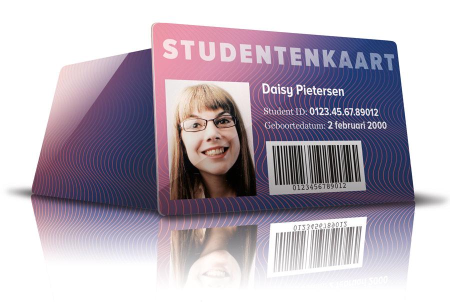 voorbeeld studentenkaart