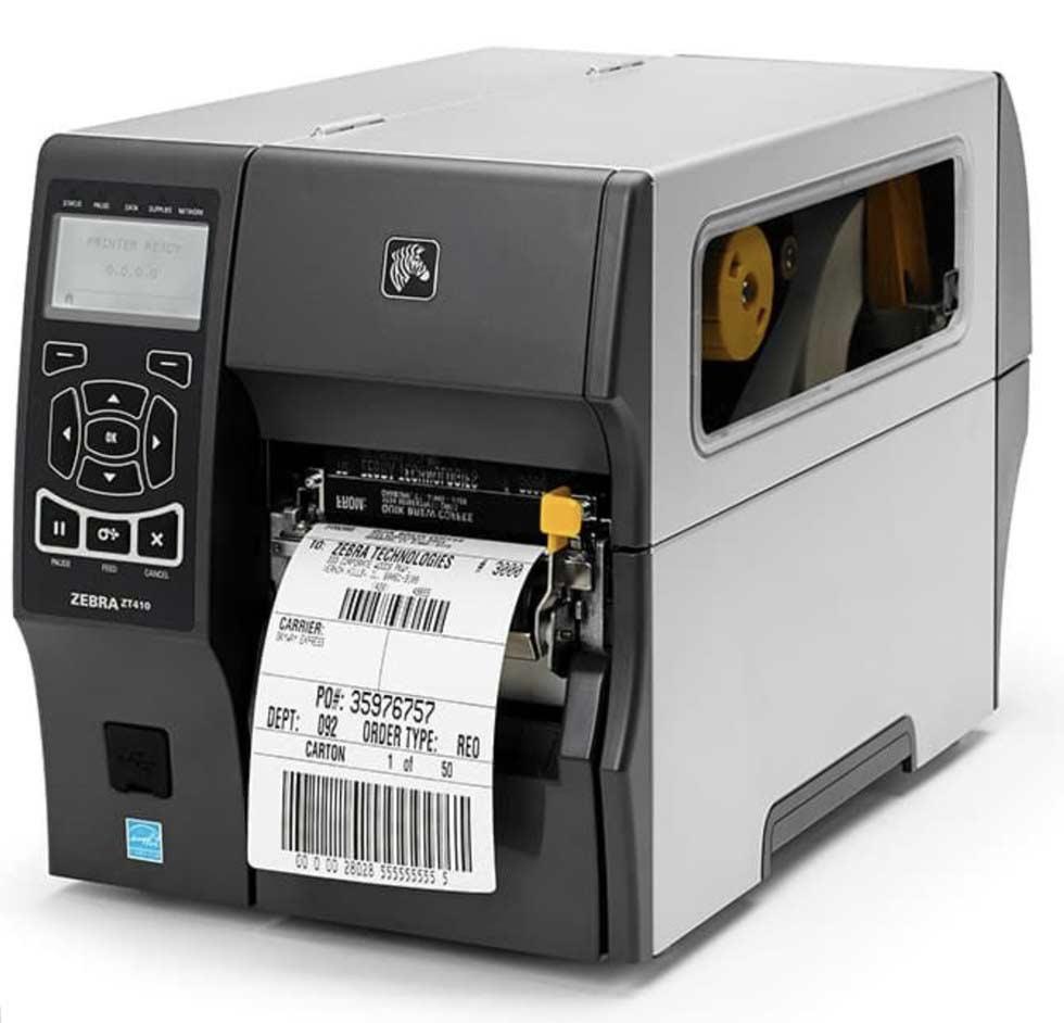 Zebra ZT41043 labelprinter