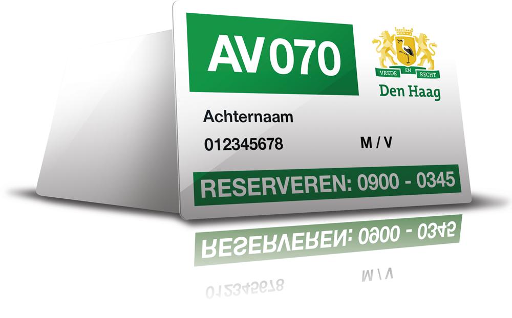 AV 070 vervoerspas